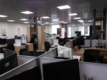 Вид кабинета проектного отдела налево от входа
